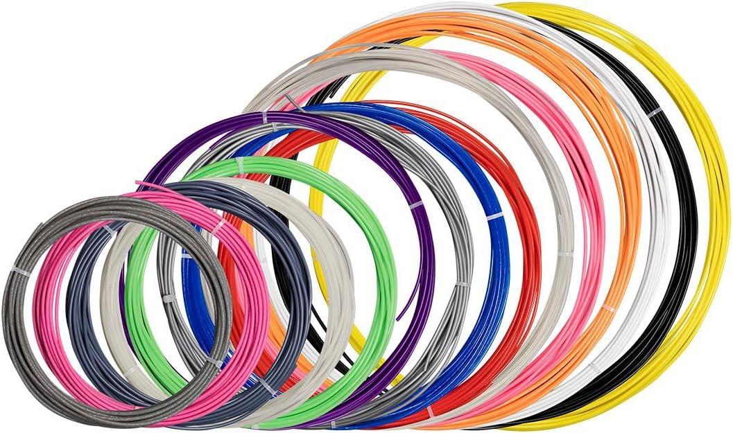 Monoprice Lote de muestras de filamentos para impresora 3D MP PLA ...