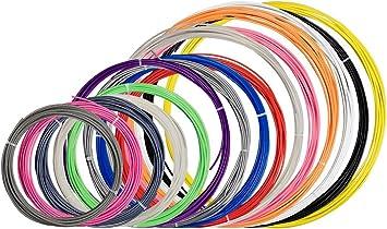 Monoprice Lote de muestras de filamentos para impresora 3D MP ...