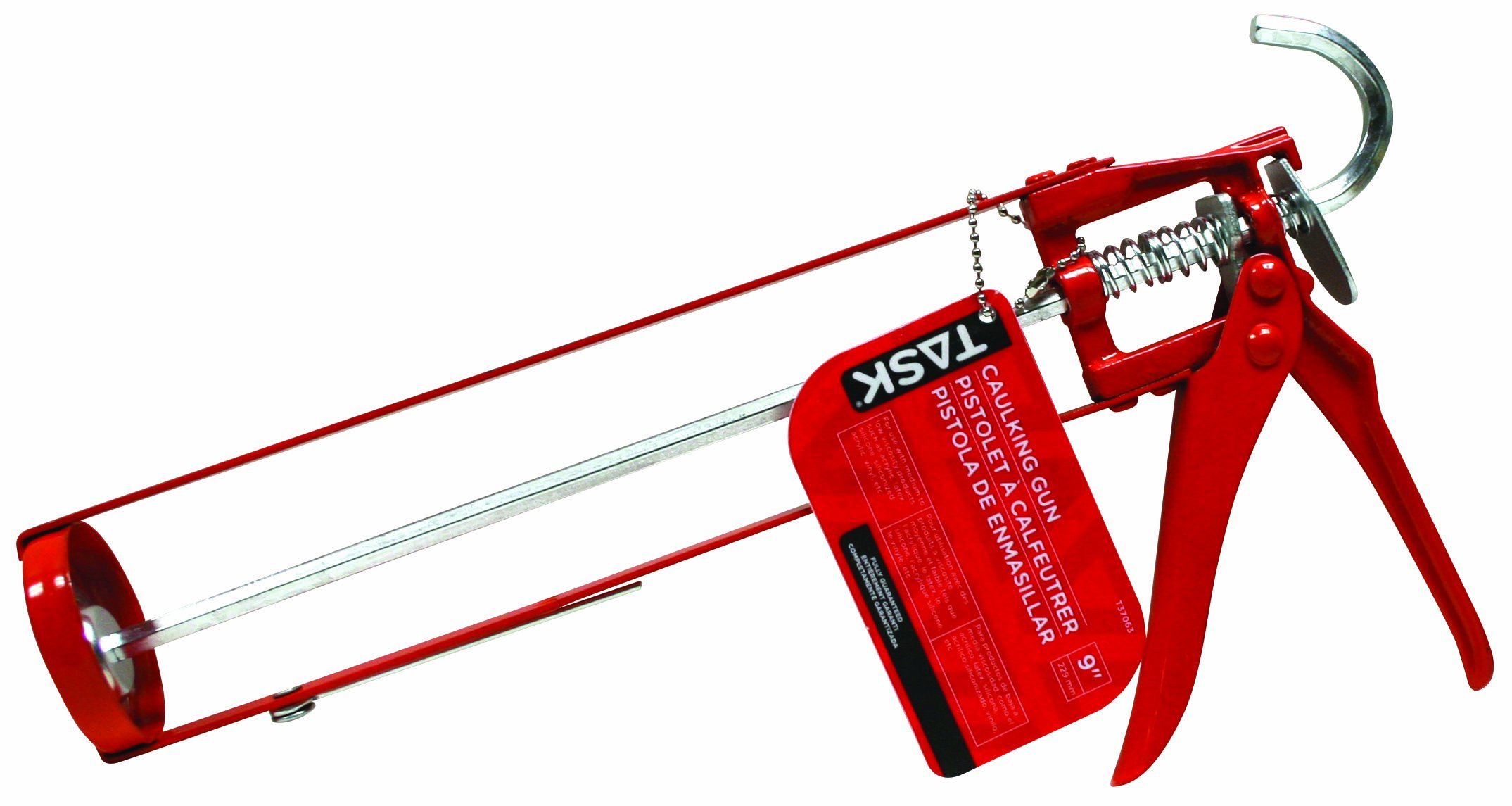 Task Tools T37063 9-Inch Light-Duty Skeleton Caulking Gun by Task Tools