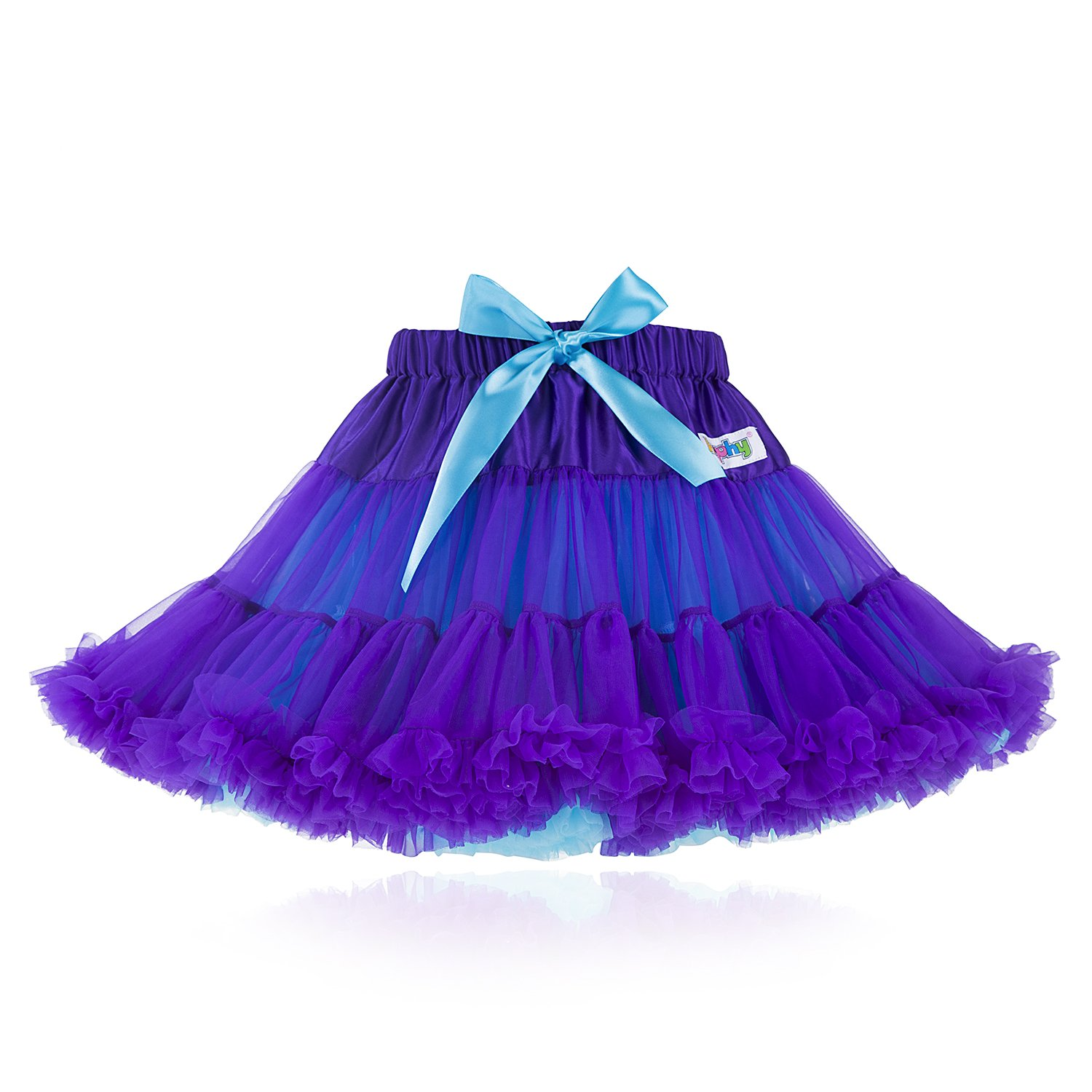 kephy Tutu Girls Mix-Color Dance Tutu Pettiskirt Baby Girl Skirt Party Dress