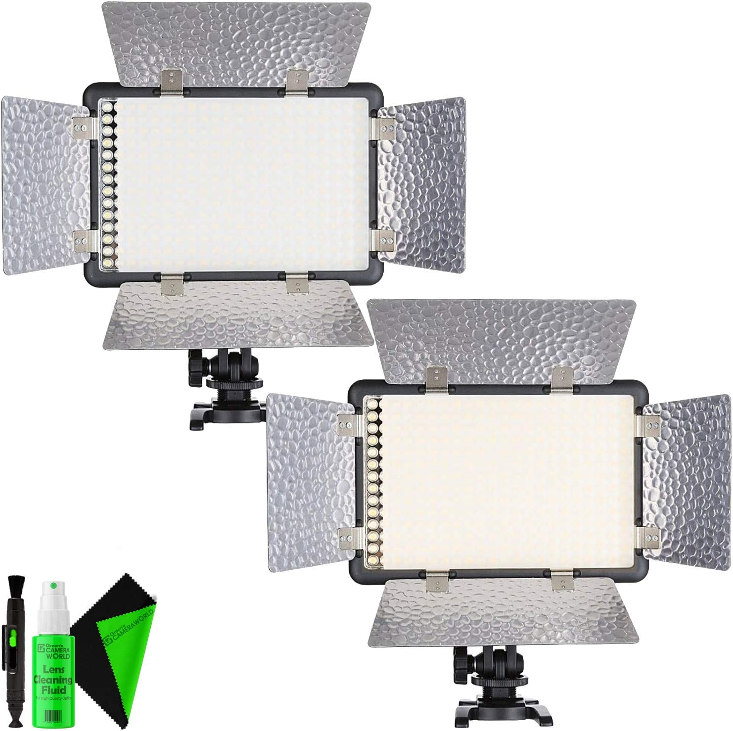 Godox LED308W 5600K LED Video Light for Camera Camcorder Godox LED308W 5600K LED Video Light for Camera Camcorder White Version Yellow Version