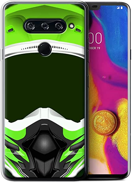 eSwish - Carcasa para teléfono móvil, diseño de Helmet Motocross ...