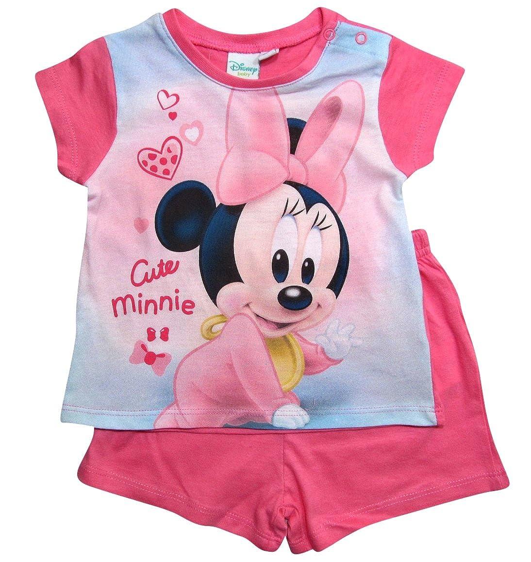 Minnie Mouse Ökotex Standard 100 Schlafanzug Mädchen