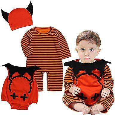 Amazon.com: Disfraz de calabaza de Halloween, para fiestas ...
