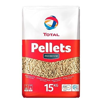 Total Premium Madera pellets Saco de 15 kg
