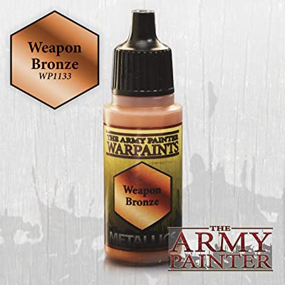 The Army Painter Warpaints: Weapon Bronze: Toys & Games