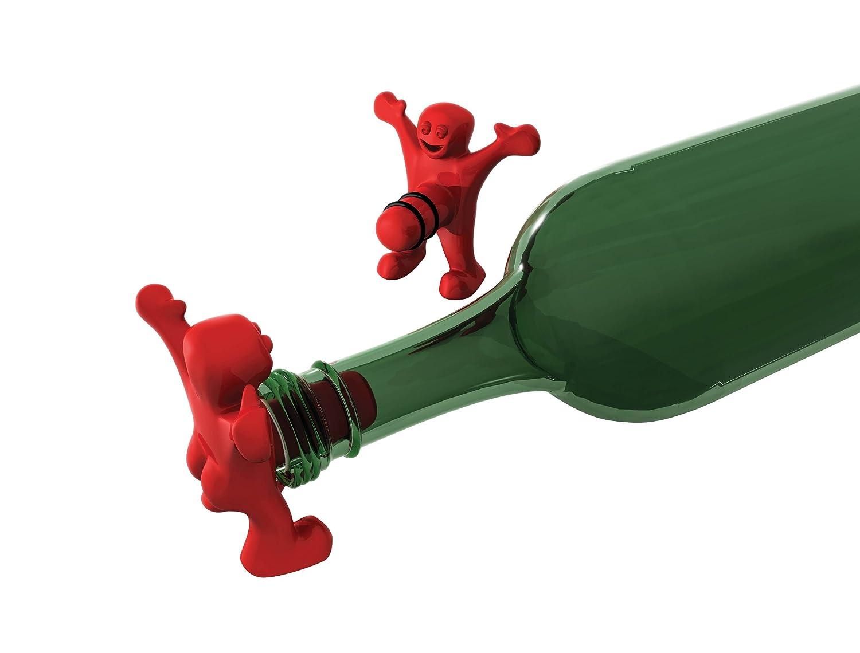 Happy Man Bottle Stopper-Flaschenverschluss