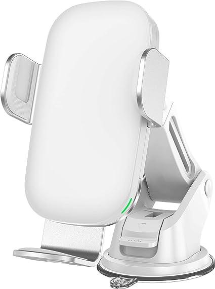 Kabelloses Auto Ladeger/ät Hinyx Qi 10 W Schnellladung Automatisches Spannen Auto Entl/üftung+Windschutzscheibe Halterung Handyhalter f/ür Apple iPhone 11 //pro//XS//Max//X//XR//8//8 Plus,Samsung S9//S9+//S8//S8+