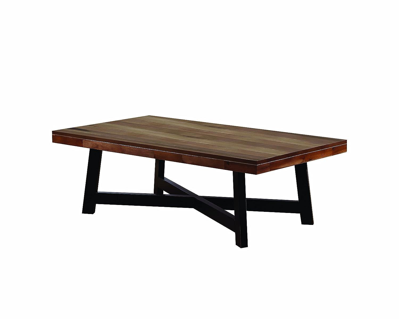 Amazon com scott living naomi ash black finish coffee table kitchen dining