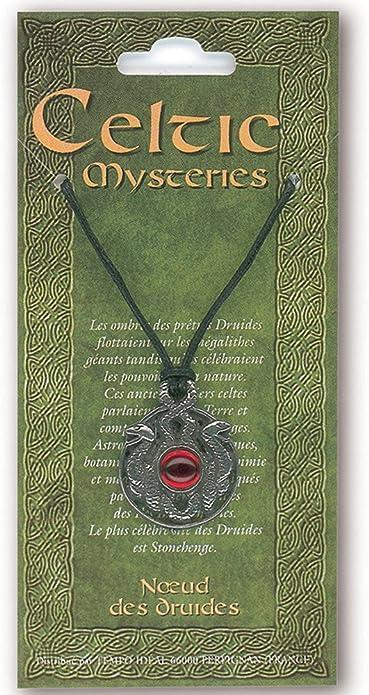 Pendentif Mystères Celtes Fabrication Française Bouclier de Fianna