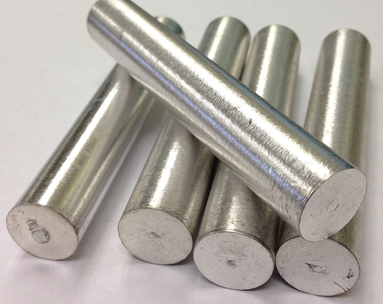 Barra de metal magnesio Mg 18 mm x 100 mm (6 unidades): Amazon.es: Amazon.es