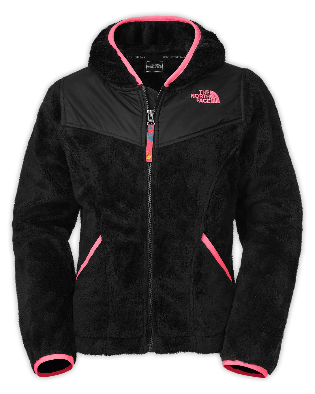The North Face Kids Girls OSO Hoodie (Little Big Kids), TNF Black XL (18
