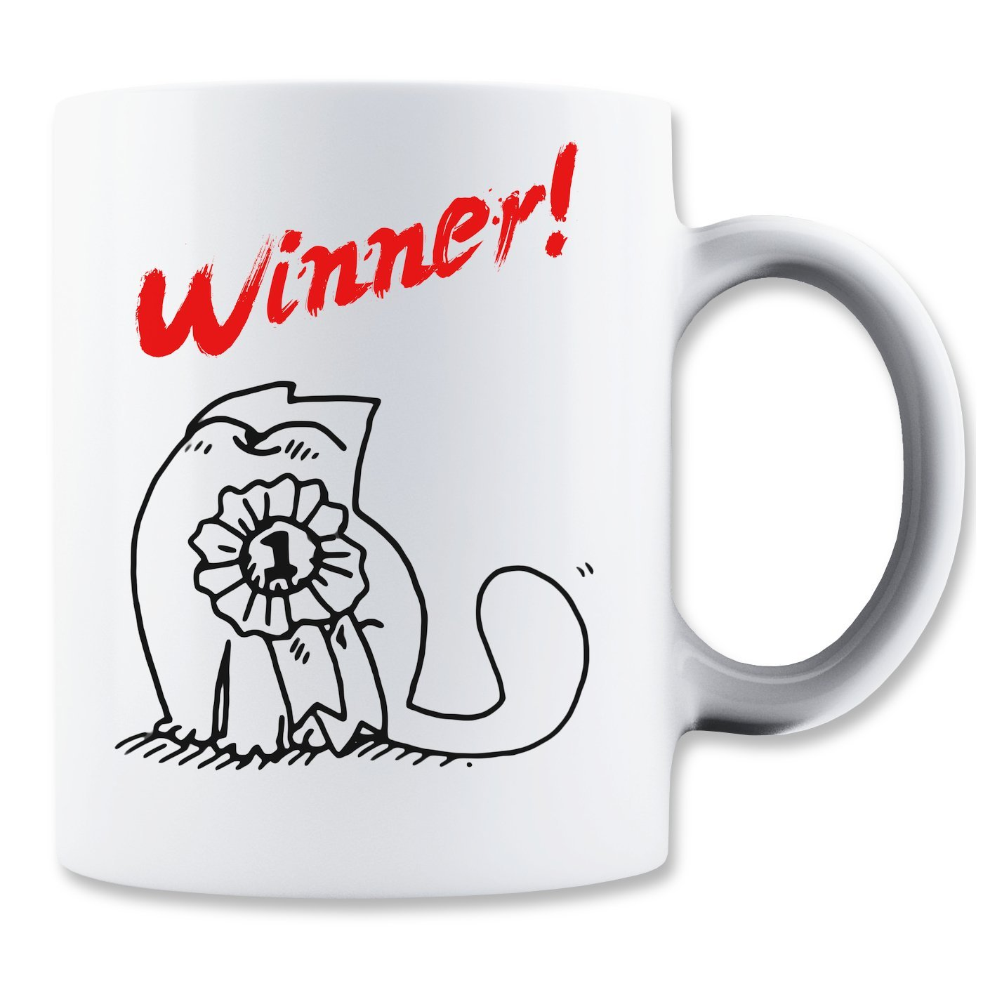 Kaffe-Tasser: Winner! (350 ml)