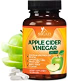 100% Natural Raw Apple Cider Vinegar Capsules 1300mg - Max Potency Apple Cider Vinegar Pills for Weight Loss, Detox, Metabolism Booster, Gentle Cleanser. Non-GMO by Natures Nutrition - 60 Capsules
