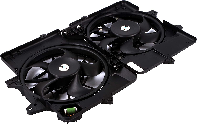 MYSMOT Engine//Radiator Cooling Fan Assembly For Ford Escape Hybrid 2005-2012 Mercury Mariner Hybrid 2006-2011 5M6Z8C607AH