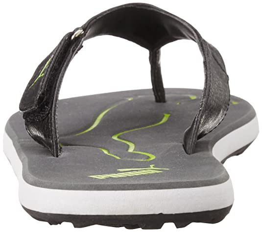 b632524bc4b0 Puma Men s Breeze V Steel Gray-Dandelion-Black Hawaii Thong Sandals - 9 UK  India (43 EU)  Buy Online at Low Prices in India - Amazon.in