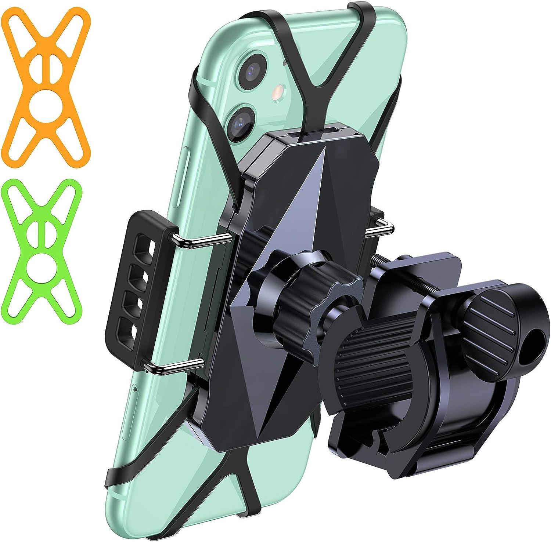 SAMSUNG GALAXY XCOVER 4 Bicycle Bike Mount Handlebar Phone Holder Grip 360°