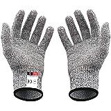 (二双組) 軍手 リガー手袋 作業用手袋 切れない 防刃耐切創 ワークマン DIY 手袋 料理用 防災用品 安全防護 グレー…