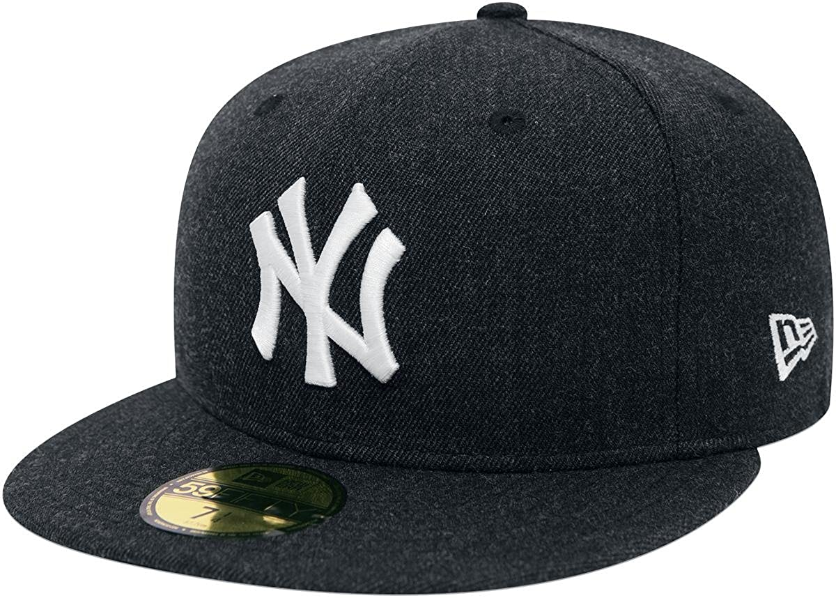 7db1b651263 New Era 59Fifty Seasonal Heather MLB New York Yankees Cap Grey ...