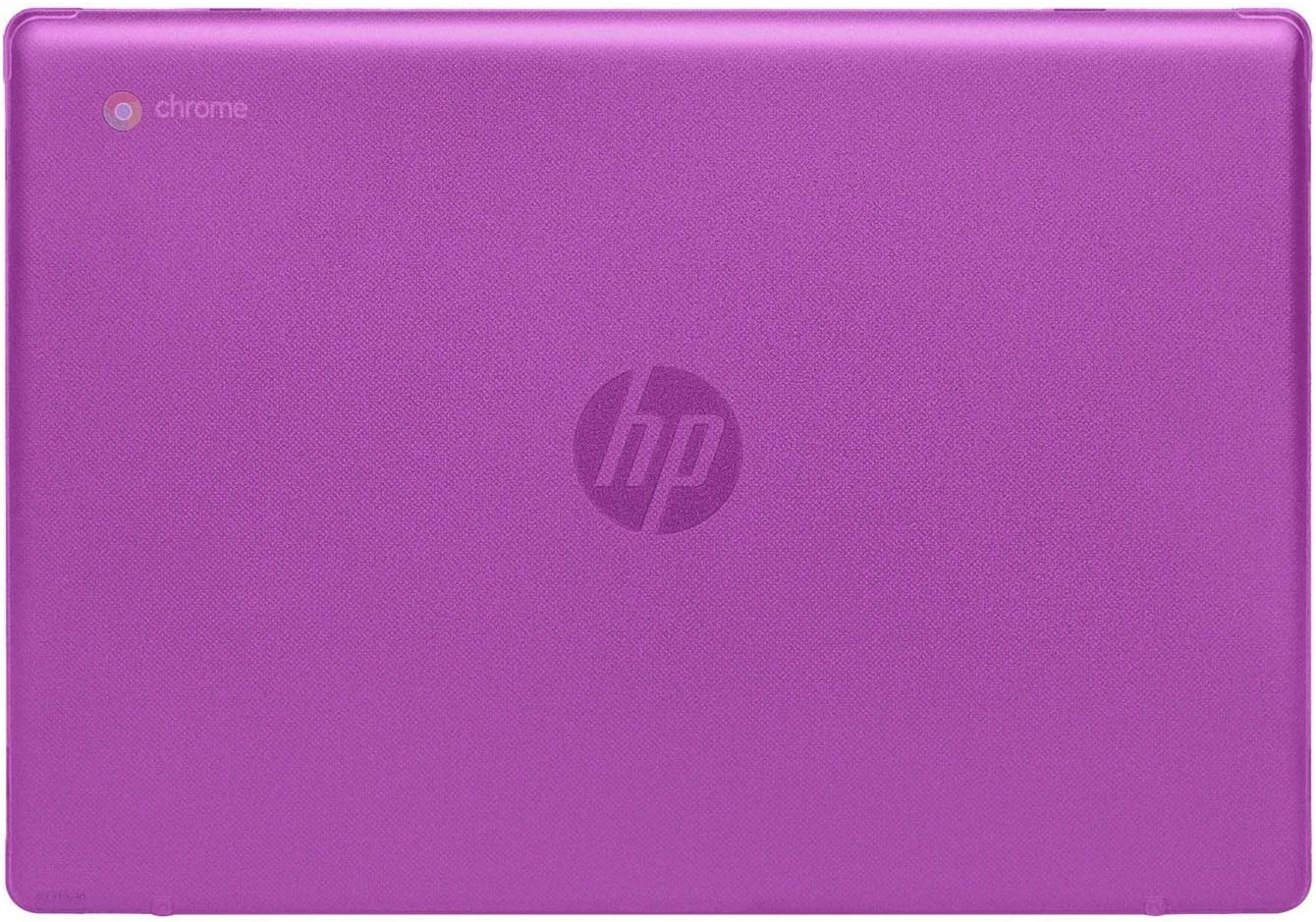 "mCover Hard Shell Case for 2020 14"" HP Chromebook 14 G6 (NOT Compatible with Older HP C14 G1 / G2 / G3 / G4/ G5 Series) laptops (Purple)"