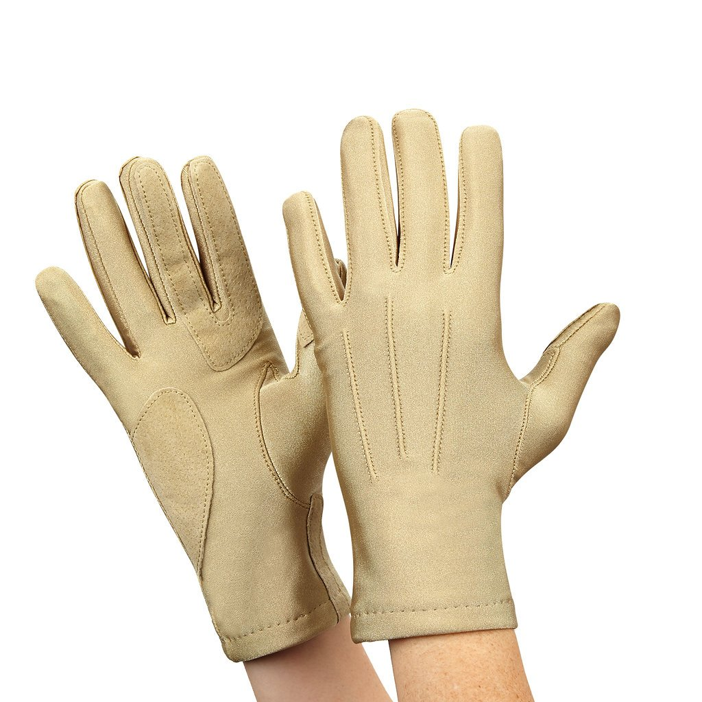 Isotoner Womens Stretch Classics Fleece Lined Gloves One Size Camel