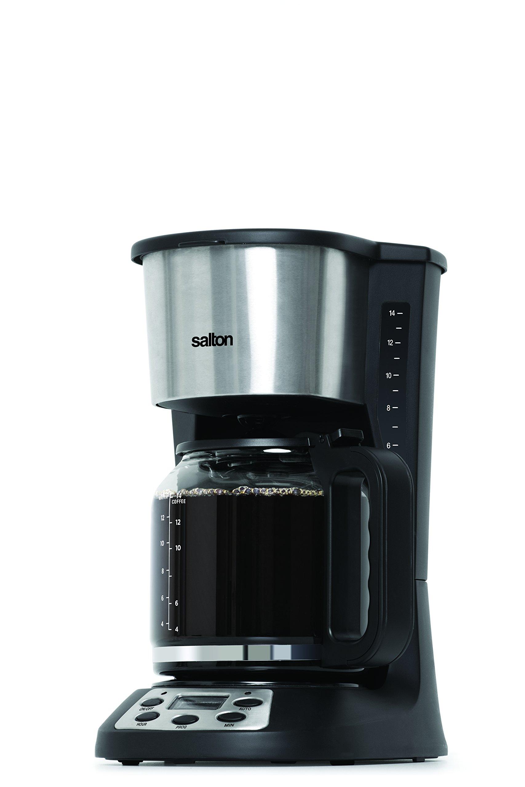Salton FC1667 14 Cup Coffee Maker, Black by Salton