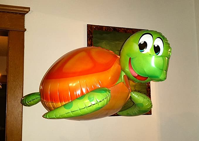 Amazon 31 3d Silly Sea Turtle Balloon Amazing New Hovering