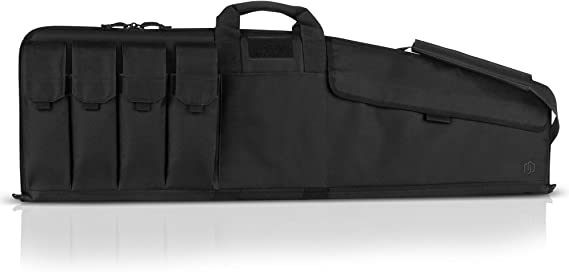 Savior Equipment The Patriot Single Scoped Long Rifle Case Gun Bag w/Padded Handle - Adjustable Sling
