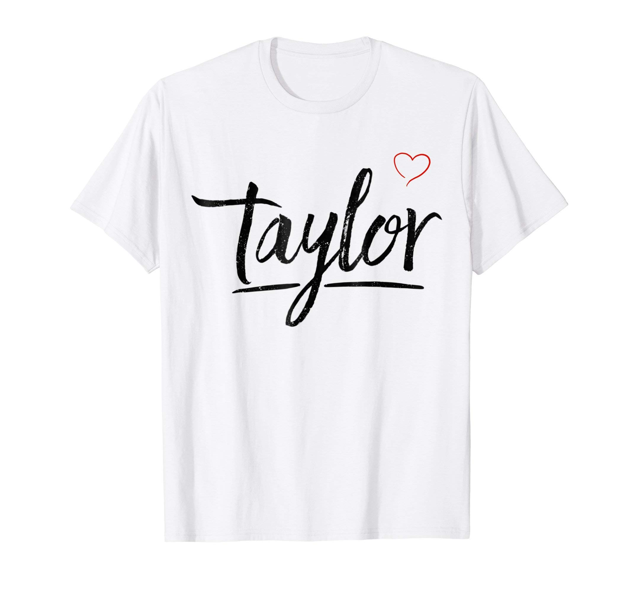 Love Taylor T-Shirt with Heart
