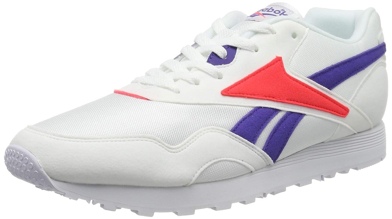 MultiCouleure (blanc Team violet Neon rouge blanc Team violet Neon rouge) Reebok Rapide Mu, Chaussures de Gymnastique Homme 43 EU