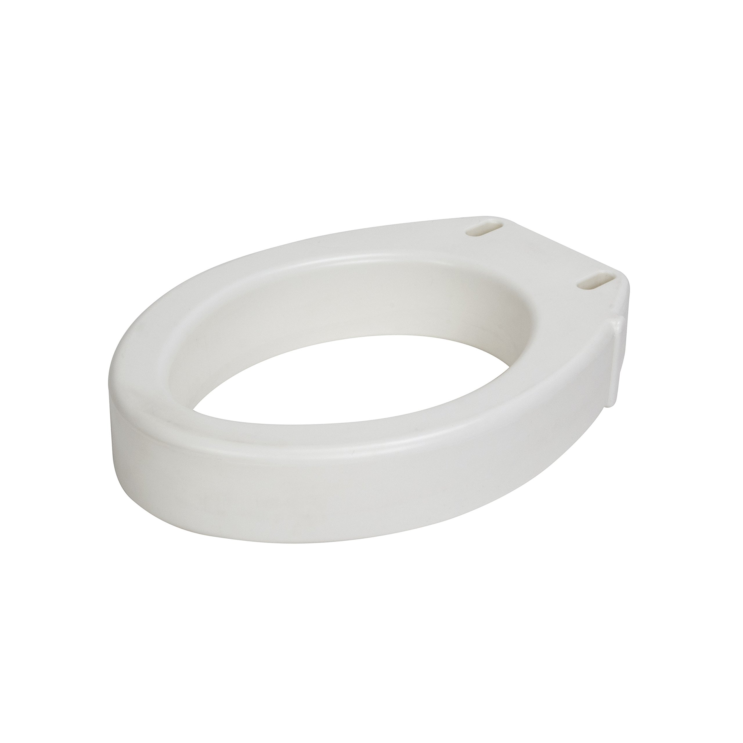 Drive Medical Toilet Seat Riser, Elongated