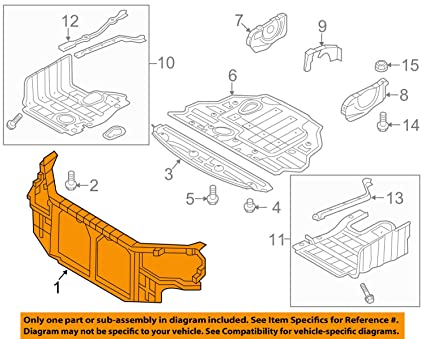 Genuine Hyundai 65741-2E010 Floor Crossmember Assembly Rear