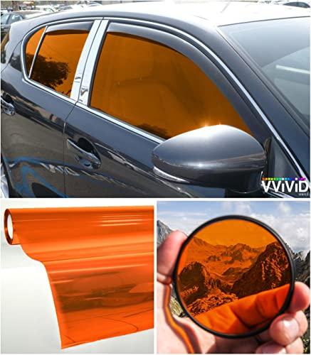 VViViD Colorful Transparent Vinyl Car Window Tinting Roll Pack