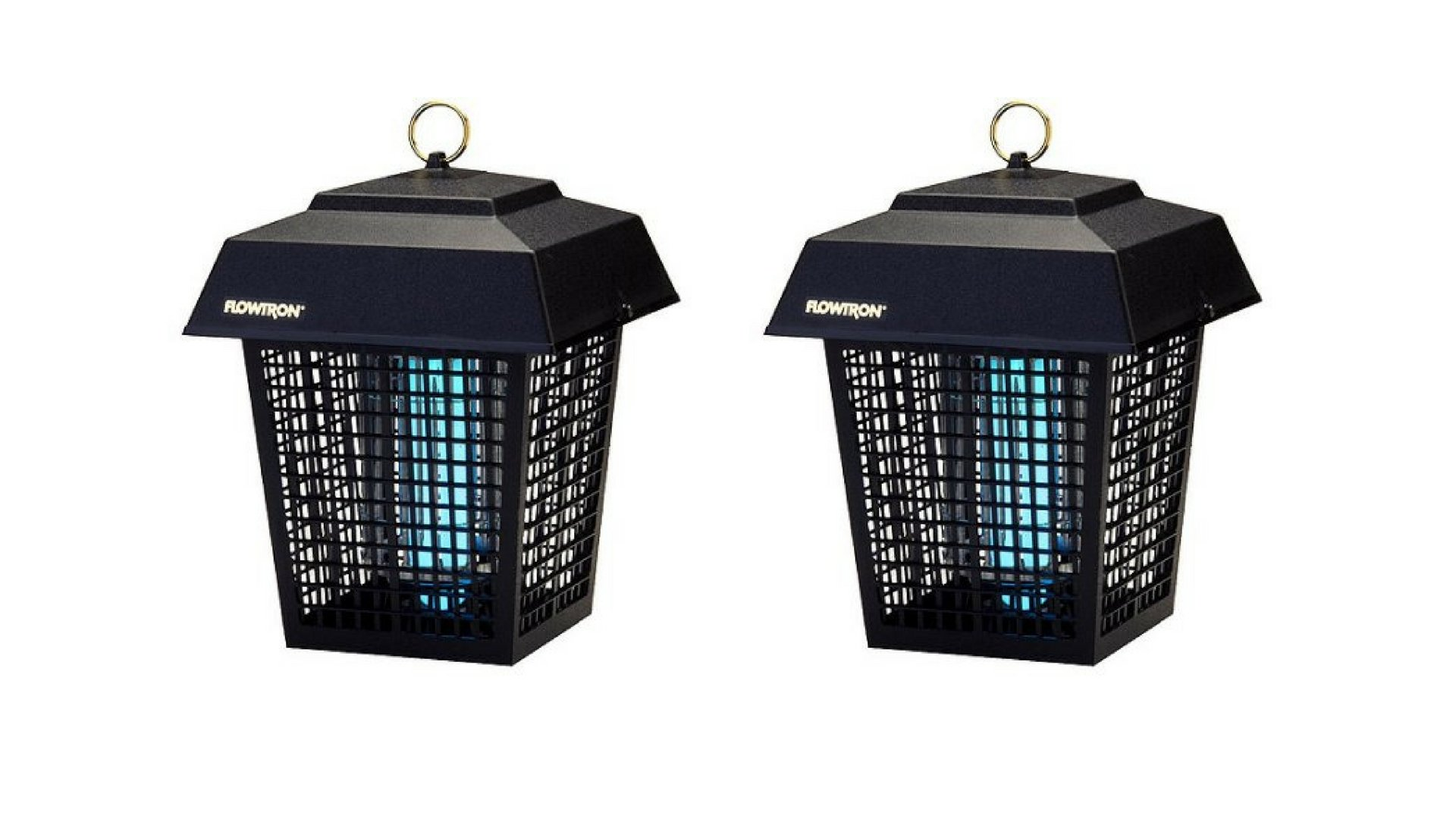 Electric Flowtron Insect Killer Lantern Half-Acre Set of 2