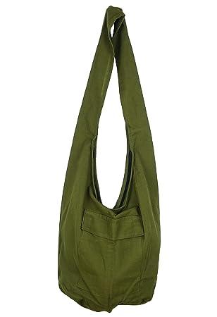 3837150dcb Sac Bandoulière Ethnique Sac à Main Coton Besace bohème Boho Homme Femme  fourre Tout Shoulder Bag