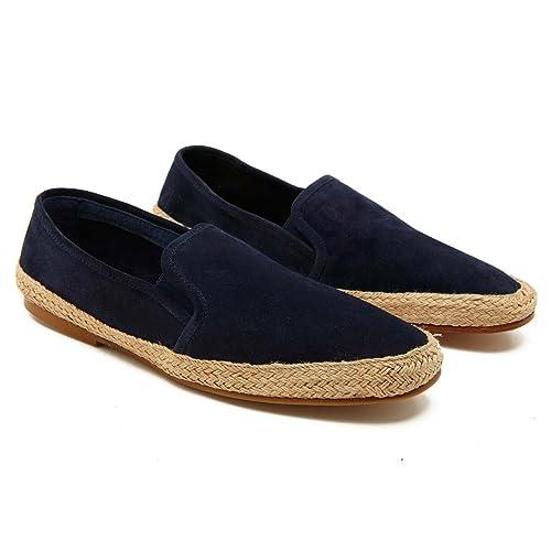 La Portegna - Alpargatas de Ante Espadrilles Dani Producto Artesanal Hombre: Amazon.es: Zapatos y complementos