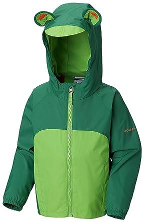 68105e673 Columbia Kids Baby Boy's Kitteribbit¿ Fleece Lined Rain Jacket (Infant/Toddler)  Ivy