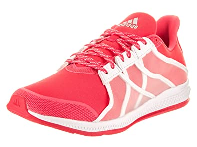 e28af1fa8704d adidas Women s Gymbreaker Bounce Shock Red White Ray Red Athletic Shoe