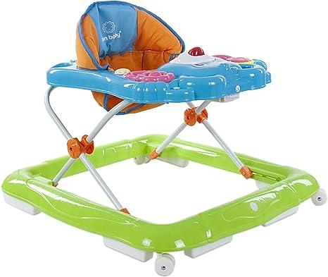 Sun Baby Kitty - Andador para bebé, color azul/naranja/verde ...