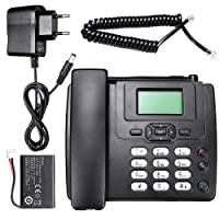 Navigatee Téléphone De Bureau - Téléphone sans Fil Hot Fixe sans Fil GSM Téléphone De Bureau Carte SIM Mobile Home Office Téléphone De Bureau
