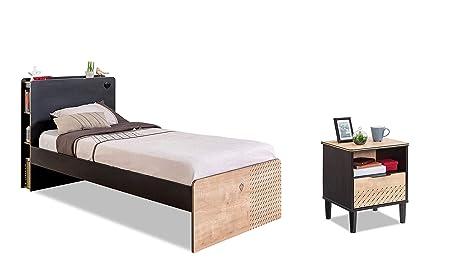 Comò Camera Da Letto Dimensioni : Dafnedesign letto e comodino un letto singolo per una