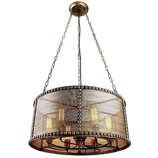 Amazon.com: Industrial Vintage cobre latón Malla de sombra ...