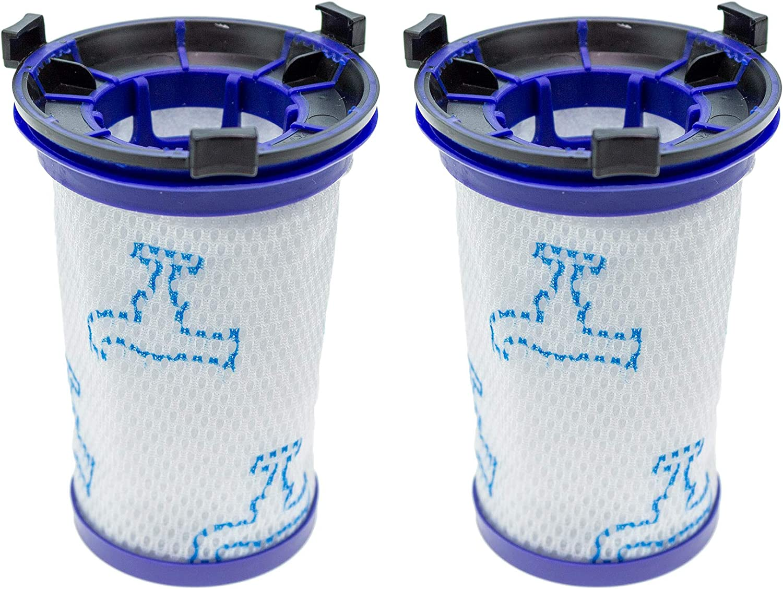 Zylindrische Filter f/ür Staubsauger Filterpatrone Waschbare Kohle 3 Schichten ohne Beutel Ridgid VF5000