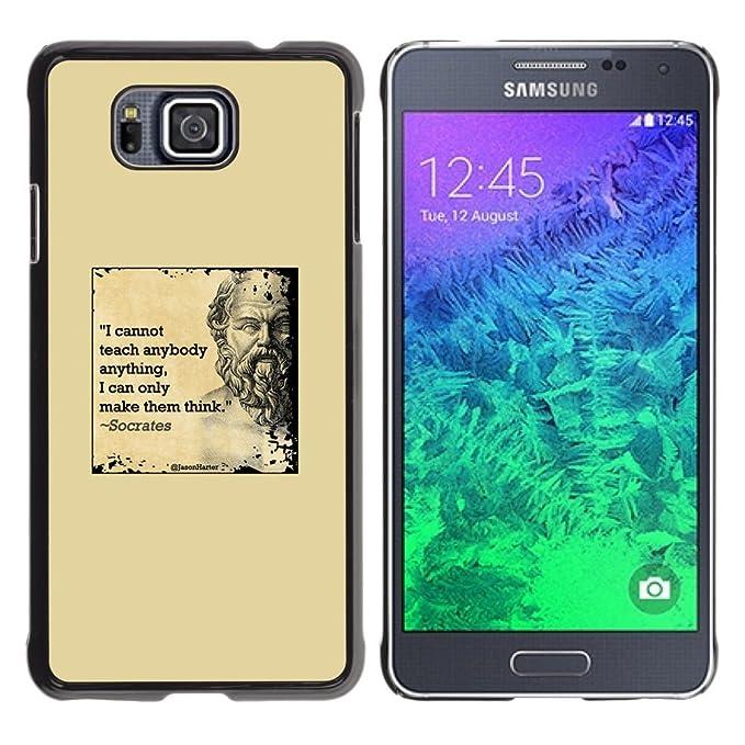 Gagadesign Pochette Coque Rigide Samsung Galaxy Alpha G850