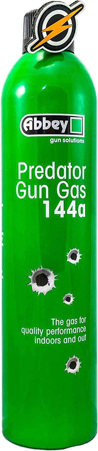 Primer y único Airsoft Airsoft Predator 144a Gas Verde y Patch by Abbey