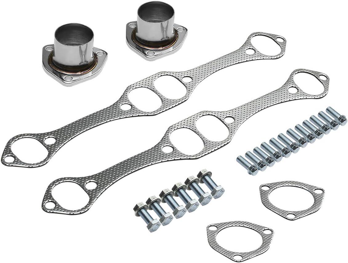 DNA MOTORING HDS-SBC-CHA HDSSBCCHA Stainless Steel Exhaust Header Manifold