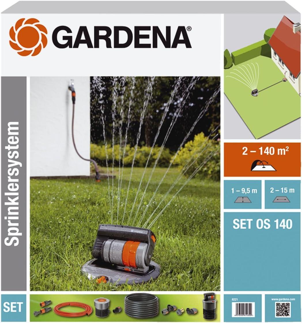 for below-ground or above-ground installation GARDENA Sprinklersystem Central Filter: Filter suitable for GARDENA Sprinklersystem 1510-20 can be used with pumps and other irrigation devices