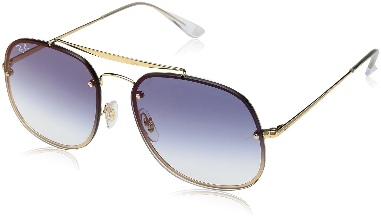 4e152f44696 Amazon.com  Ray-Ban Steel Unisex Non-Polarized Iridium Square Sunglasses