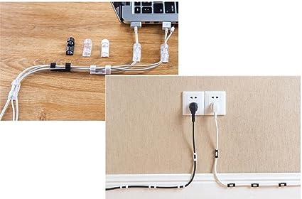 Amazon.com : C World Wire 1 Set (20 Pieces) Storage White Clips ...