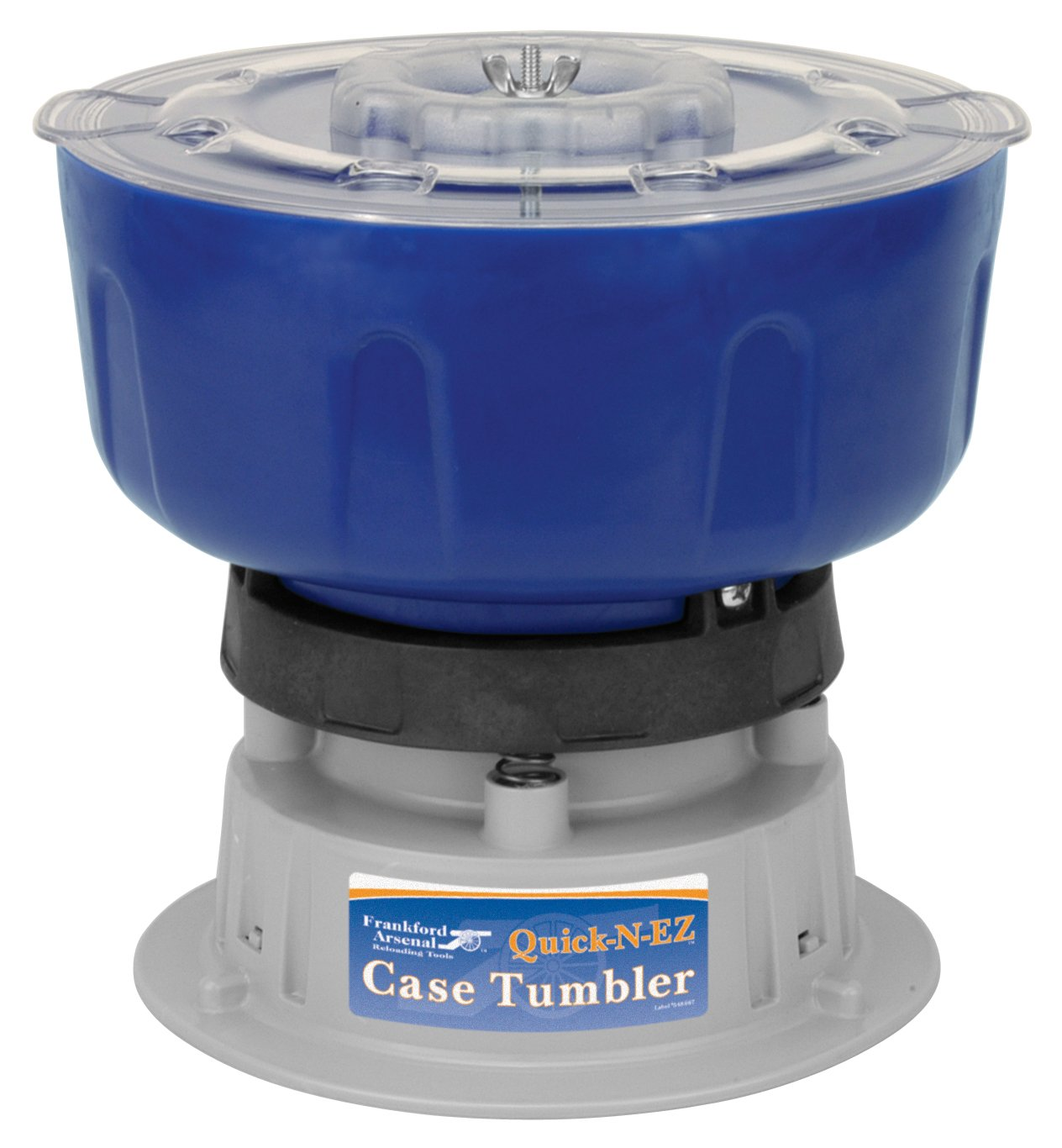 Frankford Arsenal Quick-N-EZ 110V Vibratory Case Tumbler for Cleaning and Polishing for Reloading by Frankford Arsenal